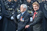 March Past, Remembrance Sunday at the Cenotaph 2016: C04 Royal Air Forces Ex-Prisoner's of War Association. Cenotaph, Whitehall, London SW1, London, Greater London, United Kingdom, on 13 November 2016 at 12:52, image #815