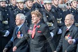 March Past, Remembrance Sunday at the Cenotaph 2016: C04 Royal Air Forces Ex-Prisoner's of War Association. Cenotaph, Whitehall, London SW1, London, Greater London, United Kingdom, on 13 November 2016 at 12:53, image #816