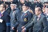 March Past, Remembrance Sunday at the Cenotaph 2016: C04 Royal Air Forces Ex-Prisoner's of War Association. Cenotaph, Whitehall, London SW1, London, Greater London, United Kingdom, on 13 November 2016 at 12:53, image #819