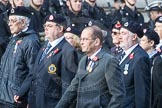 March Past, Remembrance Sunday at the Cenotaph 2016: C05 Royal Observer Corps Association. Cenotaph, Whitehall, London SW1, London, Greater London, United Kingdom, on 13 November 2016 at 12:53, image #820