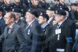March Past, Remembrance Sunday at the Cenotaph 2016: C05 Royal Observer Corps Association. Cenotaph, Whitehall, London SW1, London, Greater London, United Kingdom, on 13 November 2016 at 12:53, image #821