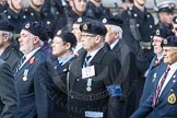 March Past, Remembrance Sunday at the Cenotaph 2016: C05 Royal Observer Corps Association. Cenotaph, Whitehall, London SW1, London, Greater London, United Kingdom, on 13 November 2016 at 12:53, image #822