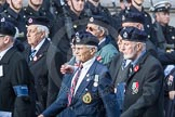 March Past, Remembrance Sunday at the Cenotaph 2016: C05 Royal Observer Corps Association. Cenotaph, Whitehall, London SW1, London, Greater London, United Kingdom, on 13 November 2016 at 12:53, image #824