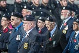 March Past, Remembrance Sunday at the Cenotaph 2016: C05 Royal Observer Corps Association. Cenotaph, Whitehall, London SW1, London, Greater London, United Kingdom, on 13 November 2016 at 12:53, image #828
