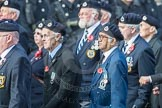 March Past, Remembrance Sunday at the Cenotaph 2016: C05 Royal Observer Corps Association. Cenotaph, Whitehall, London SW1, London, Greater London, United Kingdom, on 13 November 2016 at 12:53, image #829