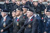 March Past, Remembrance Sunday at the Cenotaph 2016: C05 Royal Observer Corps Association. Cenotaph, Whitehall, London SW1, London, Greater London, United Kingdom, on 13 November 2016 at 12:53, image #831