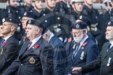 March Past, Remembrance Sunday at the Cenotaph 2016: C05 Royal Observer Corps Association. Cenotaph, Whitehall, London SW1, London, Greater London, United Kingdom, on 13 November 2016 at 12:53, image #832