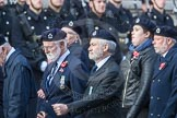 March Past, Remembrance Sunday at the Cenotaph 2016: C05 Royal Observer Corps Association. Cenotaph, Whitehall, London SW1, London, Greater London, United Kingdom, on 13 November 2016 at 12:53, image #833