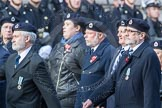 March Past, Remembrance Sunday at the Cenotaph 2016: C05 Royal Observer Corps Association. Cenotaph, Whitehall, London SW1, London, Greater London, United Kingdom, on 13 November 2016 at 12:53, image #834