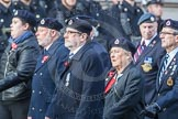 March Past, Remembrance Sunday at the Cenotaph 2016: C05 Royal Observer Corps Association. Cenotaph, Whitehall, London SW1, London, Greater London, United Kingdom, on 13 November 2016 at 12:53, image #835