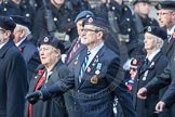 March Past, Remembrance Sunday at the Cenotaph 2016: C05 Royal Observer Corps Association. Cenotaph, Whitehall, London SW1, London, Greater London, United Kingdom, on 13 November 2016 at 12:53, image #836