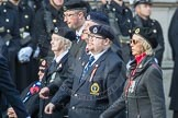 March Past, Remembrance Sunday at the Cenotaph 2016: C05 Royal Observer Corps Association. Cenotaph, Whitehall, London SW1, London, Greater London, United Kingdom, on 13 November 2016 at 12:53, image #837