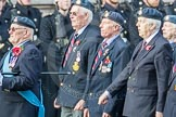 March Past, Remembrance Sunday at the Cenotaph 2016: C06 National Service (Royal Air Force) Association. Cenotaph, Whitehall, London SW1, London, Greater London, United Kingdom, on 13 November 2016 at 12:53, image #840