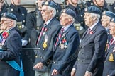 March Past, Remembrance Sunday at the Cenotaph 2016: C06 National Service (Royal Air Force) Association. Cenotaph, Whitehall, London SW1, London, Greater London, United Kingdom, on 13 November 2016 at 12:53, image #841
