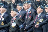 March Past, Remembrance Sunday at the Cenotaph 2016: C06 National Service (Royal Air Force) Association. Cenotaph, Whitehall, London SW1, London, Greater London, United Kingdom, on 13 November 2016 at 12:53, image #844