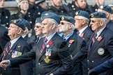 March Past, Remembrance Sunday at the Cenotaph 2016: C06 National Service (Royal Air Force) Association. Cenotaph, Whitehall, London SW1, London, Greater London, United Kingdom, on 13 November 2016 at 12:53, image #846