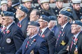 March Past, Remembrance Sunday at the Cenotaph 2016: C06 National Service (Royal Air Force) Association. Cenotaph, Whitehall, London SW1, London, Greater London, United Kingdom, on 13 November 2016 at 12:53, image #848
