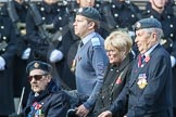 March Past, Remembrance Sunday at the Cenotaph 2016: C06 National Service (Royal Air Force) Association. Cenotaph, Whitehall, London SW1, London, Greater London, United Kingdom, on 13 November 2016 at 12:53, image #853