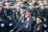March Past, Remembrance Sunday at the Cenotaph 2016: C07 RAFLING Association. Cenotaph, Whitehall, London SW1, London, Greater London, United Kingdom, on 13 November 2016 at 12:53, image #854