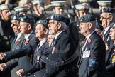 March Past, Remembrance Sunday at the Cenotaph 2016: C13 Royal Air Force Mountain Rescue Association. Cenotaph, Whitehall, London SW1, London, Greater London, United Kingdom, on 13 November 2016 at 12:54, image #887