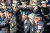 March Past, Remembrance Sunday at the Cenotaph 2016: C14 Units of the Far East Air Force. Cenotaph, Whitehall, London SW1, London, Greater London, United Kingdom, on 13 November 2016 at 12:54, image #895