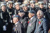 March Past, Remembrance Sunday at the Cenotaph 2016: C14 Units of the Far East Air Force. Cenotaph, Whitehall, London SW1, London, Greater London, United Kingdom, on 13 November 2016 at 12:54, image #900