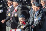 March Past, Remembrance Sunday at the Cenotaph 2016: C15 Royal Air Force Yatesbury Association. Cenotaph, Whitehall, London SW1, London, Greater London, United Kingdom, on 13 November 2016 at 12:54, image #906