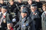 March Past, Remembrance Sunday at the Cenotaph 2016: C16 Royal Air Force Airfield Construction Branch Association. Cenotaph, Whitehall, London SW1, London, Greater London, United Kingdom, on 13 November 2016 at 12:54, image #908