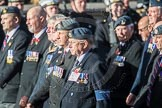March Past, Remembrance Sunday at the Cenotaph 2016: C17 Royal Air Force Movements and Mobile Air Movements Squadron Association (RAF MAMS). Cenotaph, Whitehall, London SW1, London, Greater London, United Kingdom, on 13 November 2016 at 12:54, image #916