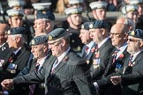 March Past, Remembrance Sunday at the Cenotaph 2016: C17 Royal Air Force Movements and Mobile Air Movements Squadron Association (RAF MAMS). Cenotaph, Whitehall, London SW1, London, Greater London, United Kingdom, on 13 November 2016 at 12:54, image #918