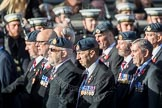 March Past, Remembrance Sunday at the Cenotaph 2016: C17 Royal Air Force Movements and Mobile Air Movements Squadron Association (RAF MAMS). Cenotaph, Whitehall, London SW1, London, Greater London, United Kingdom, on 13 November 2016 at 12:54, image #920