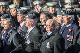 March Past, Remembrance Sunday at the Cenotaph 2016: C17 Royal Air Force Movements and Mobile Air Movements Squadron Association (RAF MAMS). Cenotaph, Whitehall, London SW1, London, Greater London, United Kingdom, on 13 November 2016 at 12:54, image #921