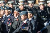 March Past, Remembrance Sunday at the Cenotaph 2016: C17 Royal Air Force Movements and Mobile Air Movements Squadron Association (RAF MAMS). Cenotaph, Whitehall, London SW1, London, Greater London, United Kingdom, on 13 November 2016 at 12:54, image #922