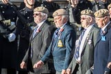 March Past, Remembrance Sunday at the Cenotaph 2016: C18 Royal Air Force Masirah & Salalah Veterans Association. Cenotaph, Whitehall, London SW1, London, Greater London, United Kingdom, on 13 November 2016 at 12:54, image #925