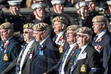 March Past, Remembrance Sunday at the Cenotaph 2016: C18 Royal Air Force Masirah & Salalah Veterans Association. Cenotaph, Whitehall, London SW1, London, Greater London, United Kingdom, on 13 November 2016 at 12:54, image #928
