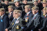 March Past, Remembrance Sunday at the Cenotaph 2016: C18 Royal Air Force Masirah & Salalah Veterans Association. Cenotaph, Whitehall, London SW1, London, Greater London, United Kingdom, on 13 November 2016 at 12:54, image #929