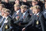 March Past, Remembrance Sunday at the Cenotaph 2016: C18 Royal Air Force Masirah & Salalah Veterans Association. Cenotaph, Whitehall, London SW1, London, Greater London, United Kingdom, on 13 November 2016 at 12:54, image #930