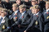 March Past, Remembrance Sunday at the Cenotaph 2016: C18 Royal Air Force Masirah & Salalah Veterans Association. Cenotaph, Whitehall, London SW1, London, Greater London, United Kingdom, on 13 November 2016 at 12:54, image #931