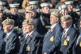 March Past, Remembrance Sunday at the Cenotaph 2016: C18 Royal Air Force Masirah & Salalah Veterans Association. Cenotaph, Whitehall, London SW1, London, Greater London, United Kingdom, on 13 November 2016 at 12:54, image #932