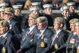 March Past, Remembrance Sunday at the Cenotaph 2016: C18 Royal Air Force Masirah & Salalah Veterans Association. Cenotaph, Whitehall, London SW1, London, Greater London, United Kingdom, on 13 November 2016 at 12:54, image #933
