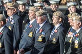 March Past, Remembrance Sunday at the Cenotaph 2016: C18 Royal Air Force Masirah & Salalah Veterans Association. Cenotaph, Whitehall, London SW1, London, Greater London, United Kingdom, on 13 November 2016 at 12:54, image #934