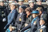 March Past, Remembrance Sunday at the Cenotaph 2016: C19 WAAF/WRAF/RAF(W). Cenotaph, Whitehall, London SW1, London, Greater London, United Kingdom, on 13 November 2016 at 12:54, image #937