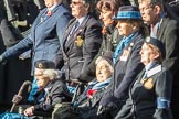 March Past, Remembrance Sunday at the Cenotaph 2016: C19 WAAF/WRAF/RAF(W). Cenotaph, Whitehall, London SW1, London, Greater London, United Kingdom, on 13 November 2016 at 12:54, image #938
