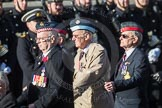 March Past, Remembrance Sunday at the Cenotaph 2016: C23 Federation of Royal Air Force Apprentice & Boy Entrant Associations. Cenotaph, Whitehall, London SW1, London, Greater London, United Kingdom, on 13 November 2016 at 12:55, image #968