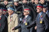 March Past, Remembrance Sunday at the Cenotaph 2016: C23 Federation of Royal Air Force Apprentice & Boy Entrant Associations. Cenotaph, Whitehall, London SW1, London, Greater London, United Kingdom, on 13 November 2016 at 12:55, image #970