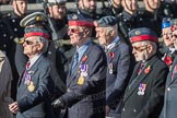 March Past, Remembrance Sunday at the Cenotaph 2016: C23 Federation of Royal Air Force Apprentice & Boy Entrant Associations. Cenotaph, Whitehall, London SW1, London, Greater London, United Kingdom, on 13 November 2016 at 12:55, image #972