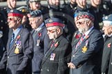 March Past, Remembrance Sunday at the Cenotaph 2016: C23 Federation of Royal Air Force Apprentice & Boy Entrant Associations. Cenotaph, Whitehall, London SW1, London, Greater London, United Kingdom, on 13 November 2016 at 12:55, image #973