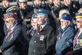 March Past, Remembrance Sunday at the Cenotaph 2016: C23 Federation of Royal Air Force Apprentice & Boy Entrant Associations. Cenotaph, Whitehall, London SW1, London, Greater London, United Kingdom, on 13 November 2016 at 12:55, image #975