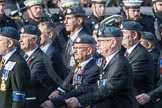 March Past, Remembrance Sunday at the Cenotaph 2016: C29 Harrier Force Association. Cenotaph, Whitehall, London SW1, London, Greater London, United Kingdom, on 13 November 2016 at 12:56, image #1048