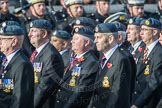 March Past, Remembrance Sunday at the Cenotaph 2016: C29 Harrier Force Association. Cenotaph, Whitehall, London SW1, London, Greater London, United Kingdom, on 13 November 2016 at 12:56, image #1050